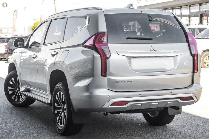 2021 Mitsubishi Pajero Sport Exceed QF MY21 4X4 Dual Range Silver