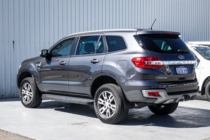 2019 Ford Everest Trend UA II MY19 4X4 Dual Range Grey