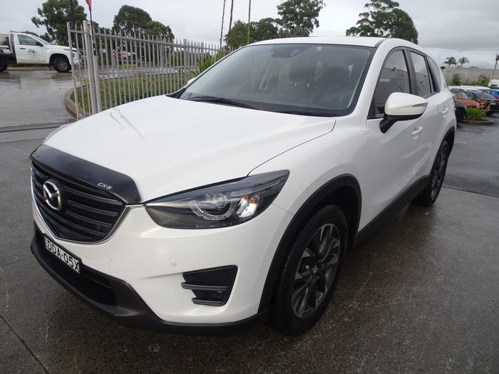 2016 Mazda CX-5 Grand Touring KE Series 2 4X4 On Demand Crystal White Pearl