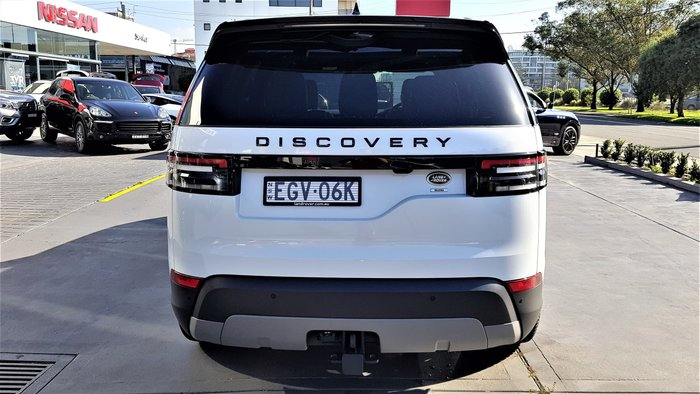 2019 Land Rover Discovery SD6 SE Series 5 MY20 4X4 Dual Range Yulong White