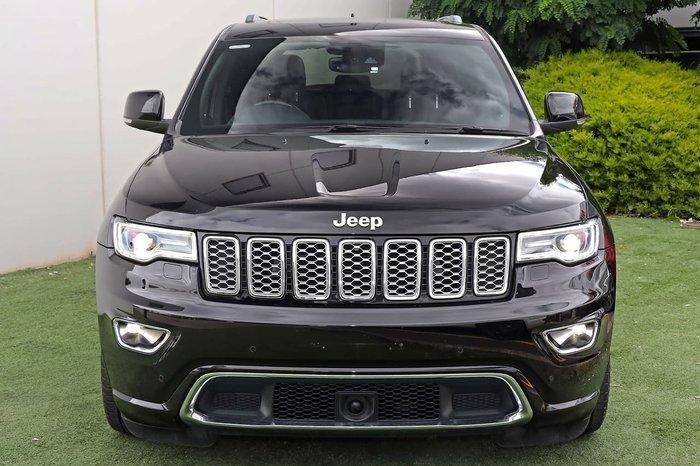 2017 Jeep Grand Cherokee Overland WK MY18 4X4 Dual Range Black