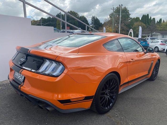 2019 Ford Mustang GT FN MY20 Orange
