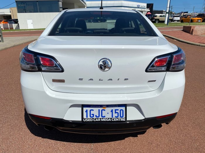 2017 Holden Calais VF Series II MY17 White