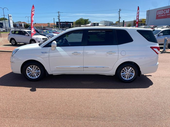 2014 SsangYong Stavic A100 MY14 White