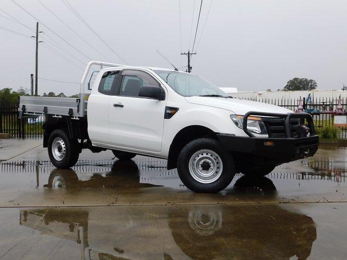 2015 Ford Ranger XL PX 4X4 Dual Range White
