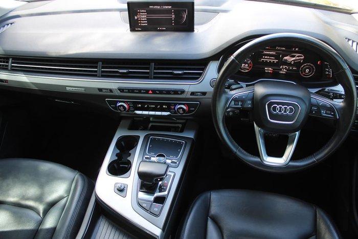 2016 Audi Q7 TDI 4M MY17 Four Wheel Drive Blue
