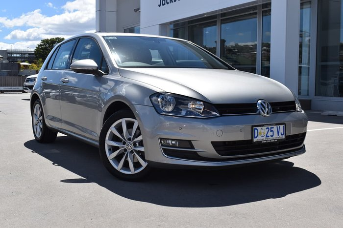 2014 Volkswagen Golf 103TSI Highline 7 MY14 Silver