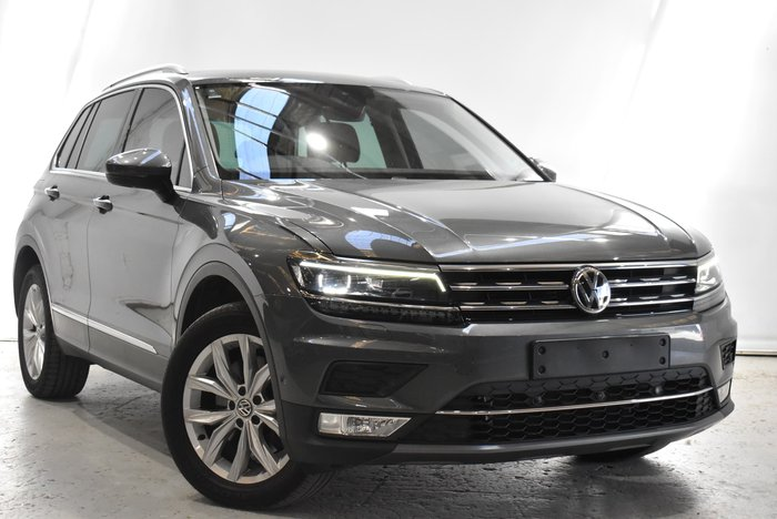 2017 Volkswagen Tiguan 162TSI Highline 5N MY17 Four Wheel Drive Tungsten Silver