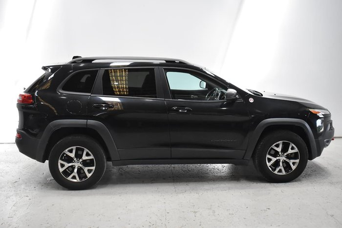 2016 Jeep Cherokee Trailhawk KL MY16 4X4 Dual Range Brilliant Black
