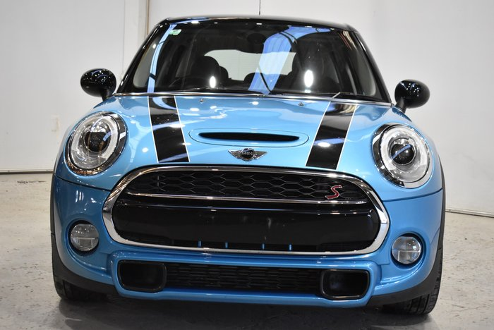 2018 MINI Hatch Cooper S F56 Blue