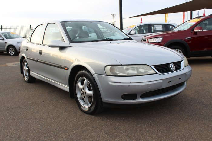 2000 Holden Vectra GL JS II Star Silver