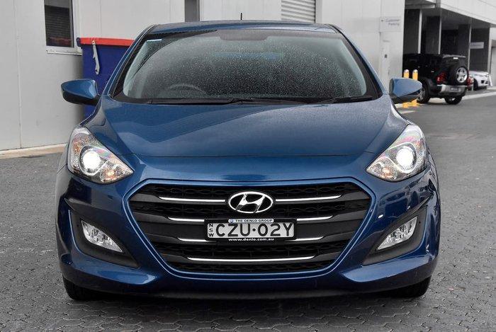 2015 Hyundai i30 Active GD3 Series II MY16 Blue