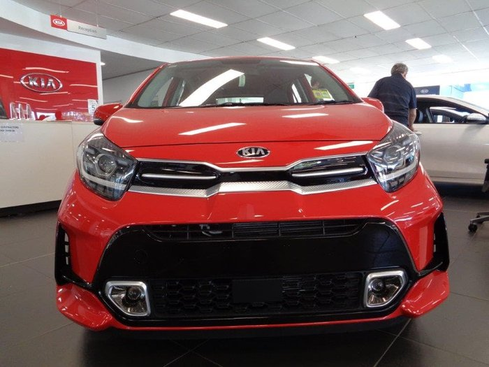 2020 Kia Picanto GT-Line JA MY21 Signal Red