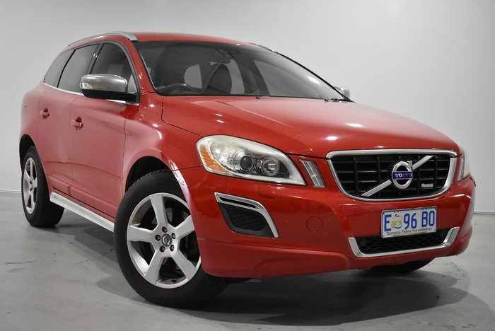 2010 Volvo XC60 T6 MY10 Four Wheel Drive Maple Red
