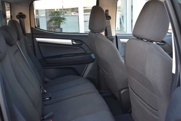 2017 Holden Colorado LTZ RG MY17 4X4 Dual Range Black