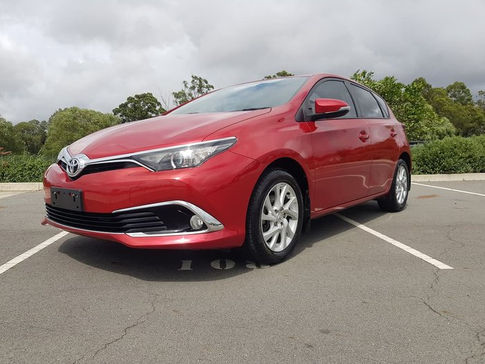 2016 Toyota Corolla Ascent Sport ZRE182R Red