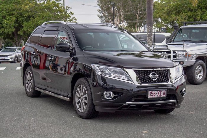 2015 Nissan Pathfinder ST R52 MY15 Black