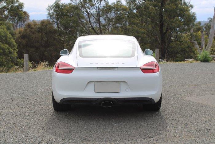 2013 Porsche Cayman 981 White