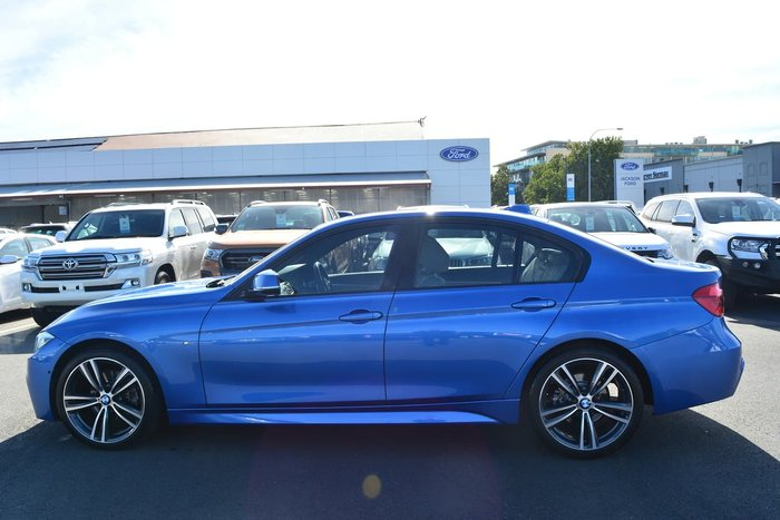 2017 BMW 3 Series 320d M Sport F30 LCI Blue