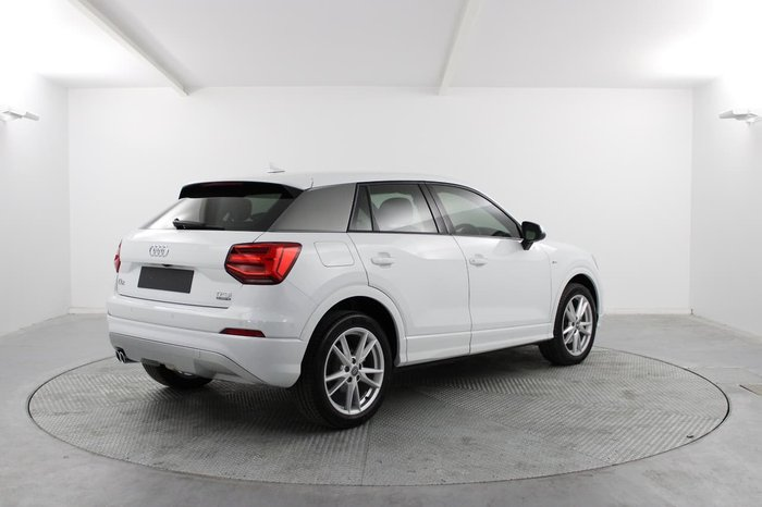 2017 Audi Q2 sport GA MY18 Four Wheel Drive White