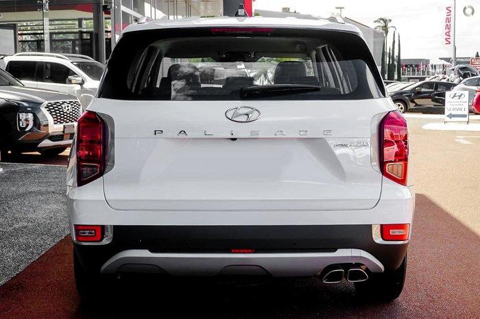 2021 Hyundai Palisade LX2.V1 MY21 4X4 On Demand White Cream