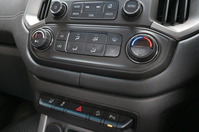 2018 Holden Colorado LTZ RG MY18 4X4 Dual Range Silver