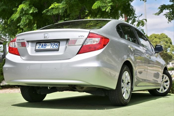 2012 Honda Civic VTi 9th Gen Ser II Silver