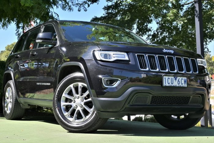 2014 Jeep Grand Cherokee Laredo WK MY14 Black