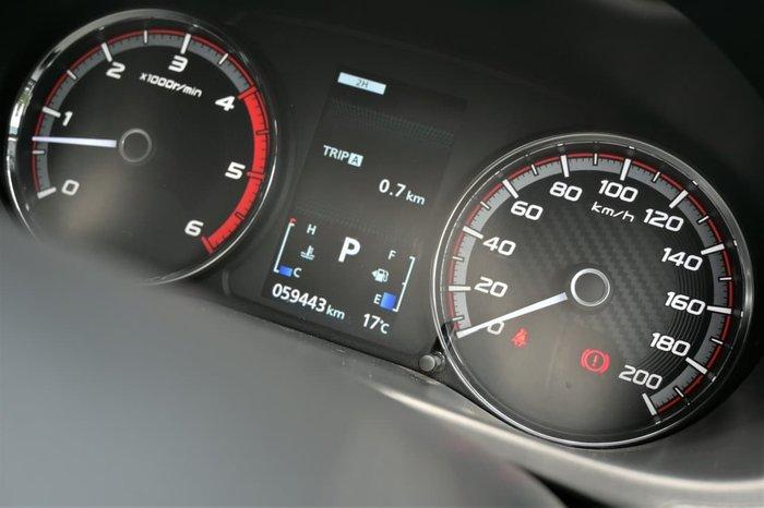 2019 Mitsubishi Triton GLS MR MY19 4X4 Dual Range Black
