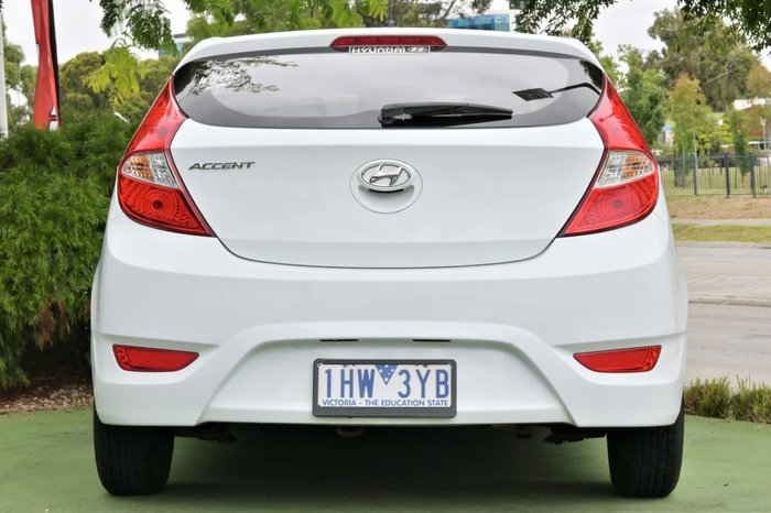 2016 Hyundai Accent Active RB4 MY16 White