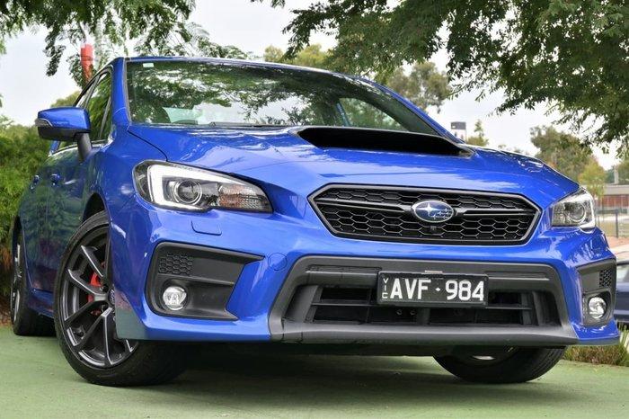 2018 Subaru WRX Premium V1 MY18 Four Wheel Drive Blue