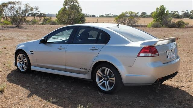 2007 Holden Commodore SS VE Silver