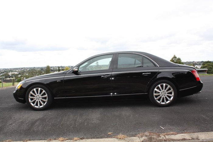 2006 Maybach 57 S 240 Black