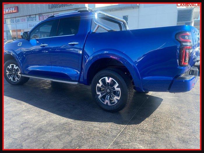 2020 GWM Ute Cannon-L NPW MY2021 Blue Sapphire