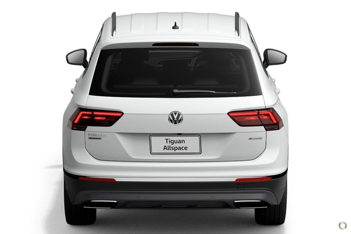 2021 Volkswagen Tiguan 162TSI Highline Allspace 5N MY21 Four Wheel Drive Pure White