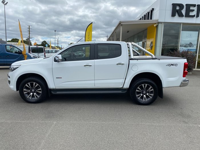 2017 Holden Colorado LTZ RG MY17 4X4 Dual Range White