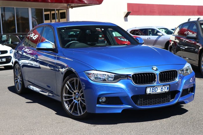 2014 BMW 3 Series 320d F30 MY14 Blue