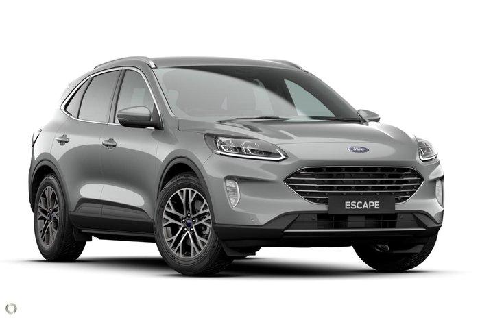2020 Ford Escape ZH MY20.75 Silver