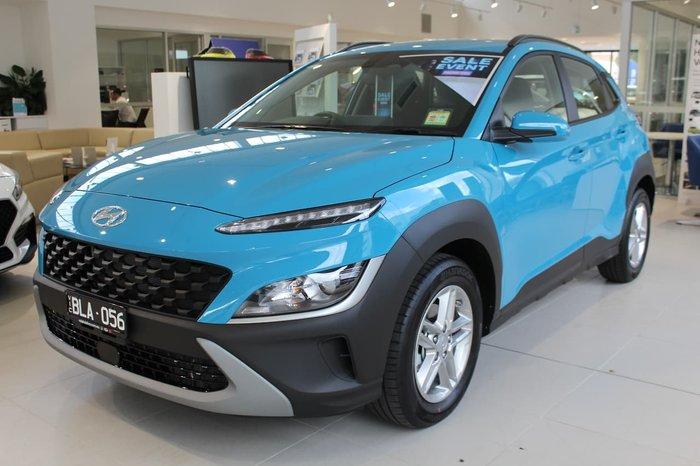 2021 Hyundai Kona OS.V4 MY21 Blue