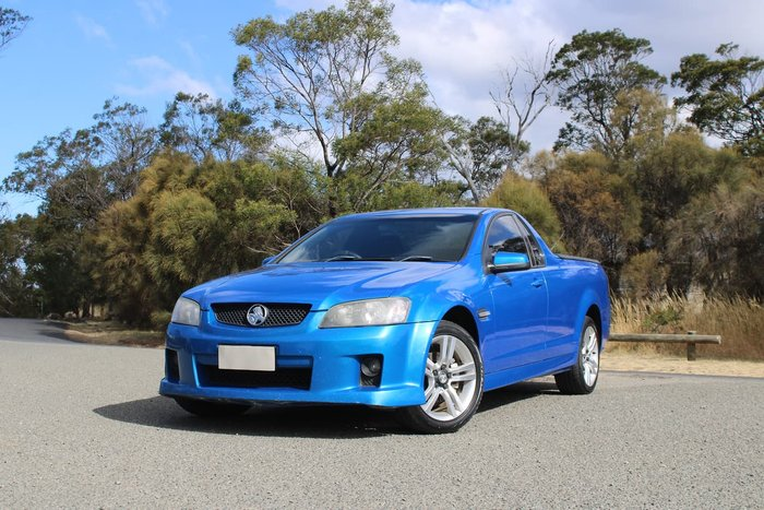 2009 Holden Ute SV6 VE MY09.5 Blue