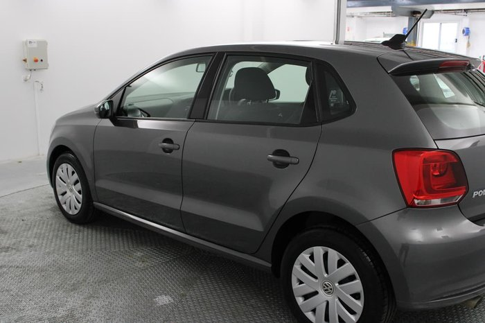 2013 Volkswagen Polo Trendline 6R MY13.5 Grey