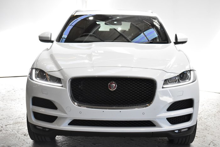 2017 Jaguar F-PACE 30d Prestige X761 MY17 AWD Polaris White