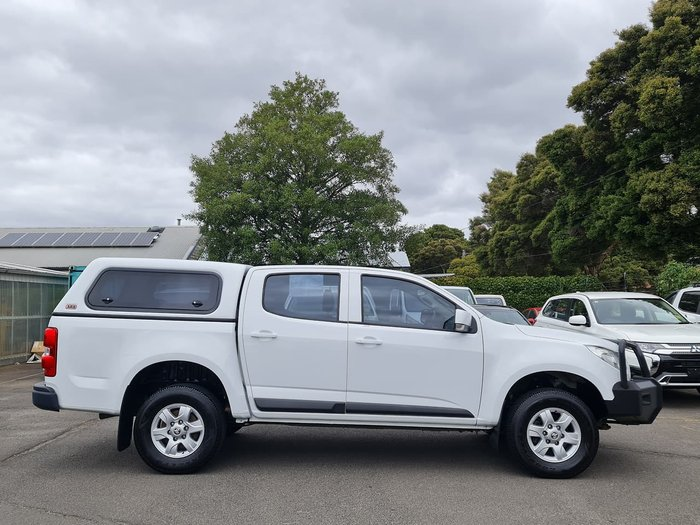 2016 Holden Colorado LT RG MY16 White