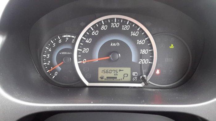 2013 Mitsubishi Mirage LS LA MY14 Blue