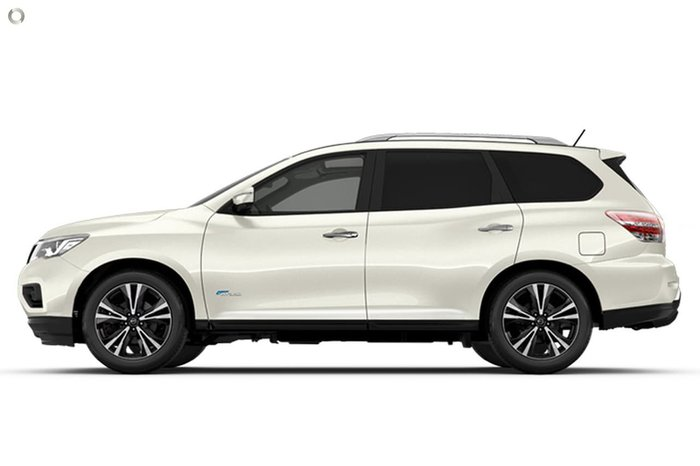2020 Nissan Pathfinder Ti R52 Series III MY19 4X4 On Demand White