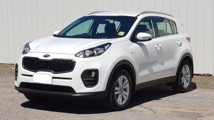 2017 Kia Sportage Si QL MY18 4X4 On Demand White