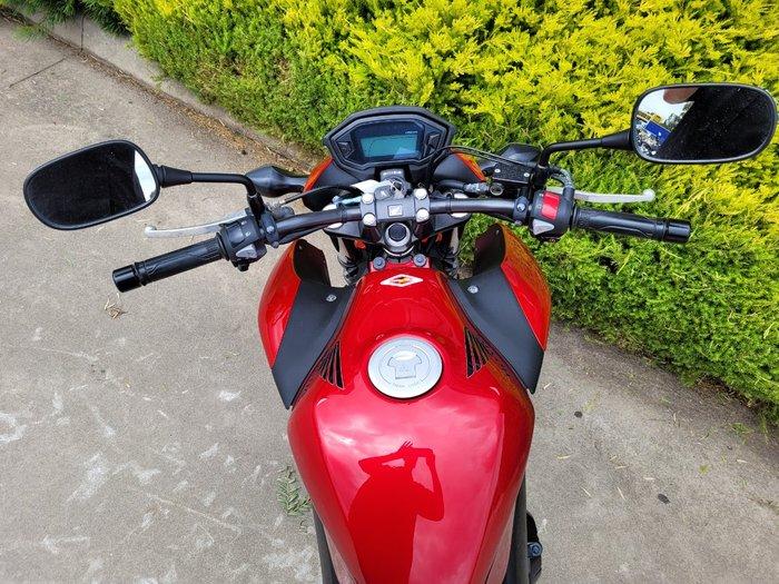 2014 Honda CB500F Red