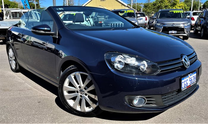 2012 Volkswagen Golf 118TSI VI MY13 Night Blue Metallic