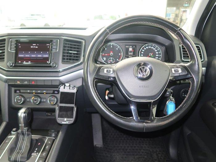 2017 Volkswagen Amarok TDI550 Ultimate 2H MY17.5 4X4 Constant White