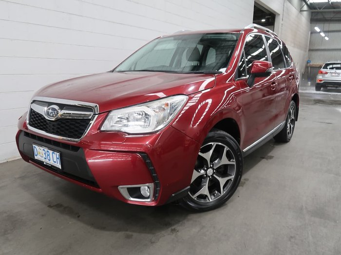 2012 Subaru Forester XT S4 MY13 AWD Red